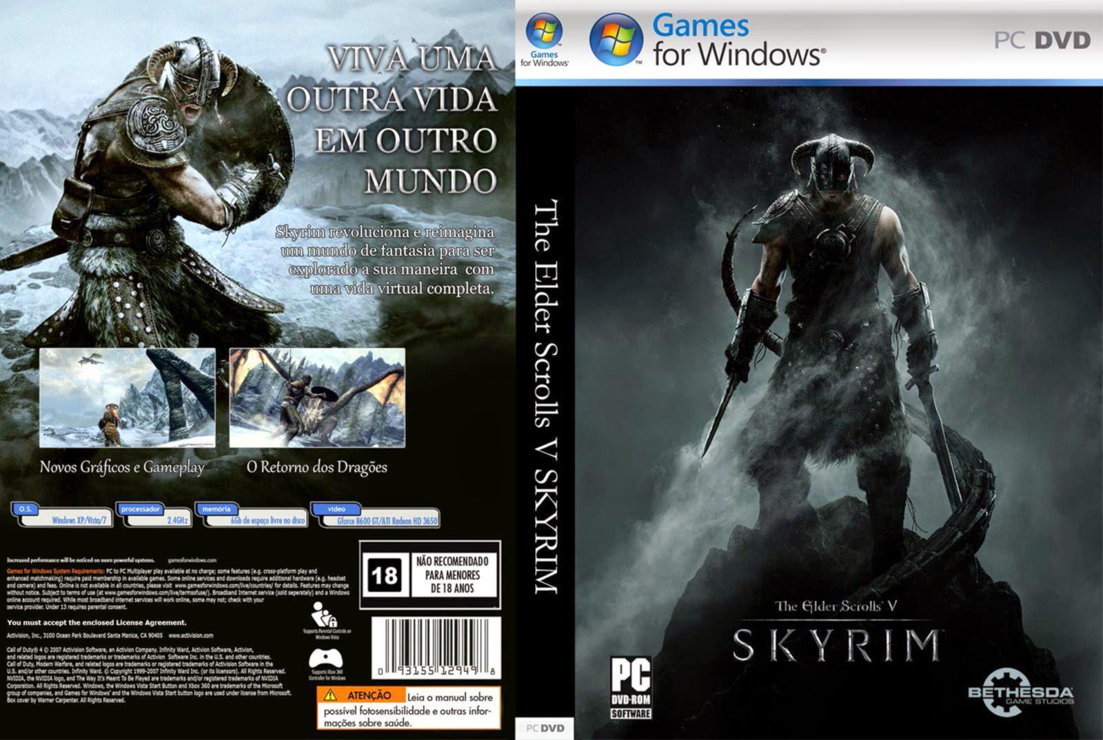 Elder Scrolls V Skyrim Gold Edition imagens