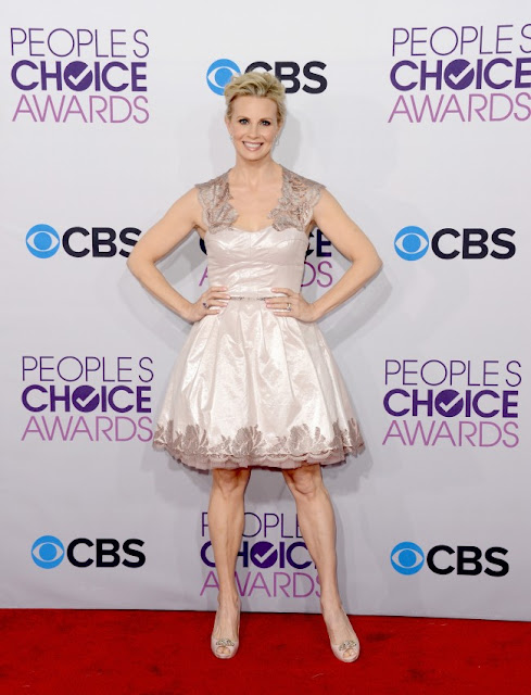 Monica Potter at The Peoples Choice Awards 2013