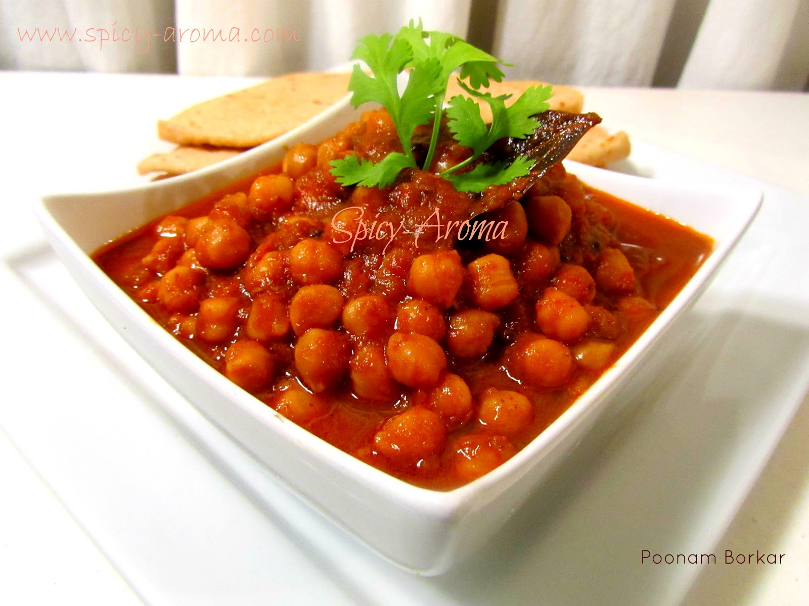 Chana Masala / Chole Recipe / Chickpea Curry (Pressure cooker Recipe ...