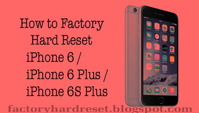Iphone 5s hard reset как сделать