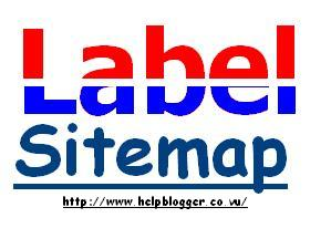 How to Create Specific Label Sitemap Page For Blogger