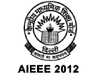 AIEEE 2012 Exam Date - Admit Card, Exam Notification & Results of AIEEE 2012 All India Engineering Entrance Examination