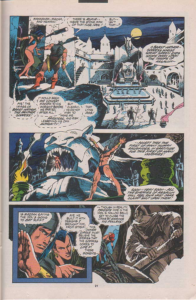 Conan the Barbarian (1970) Issue #262 #274 - English 16