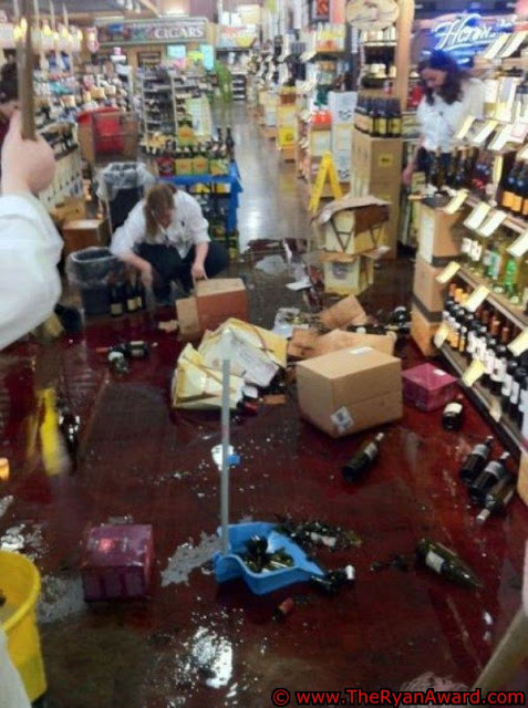 Shitty Day At Work - Broken Wine Bottles Everywhere!