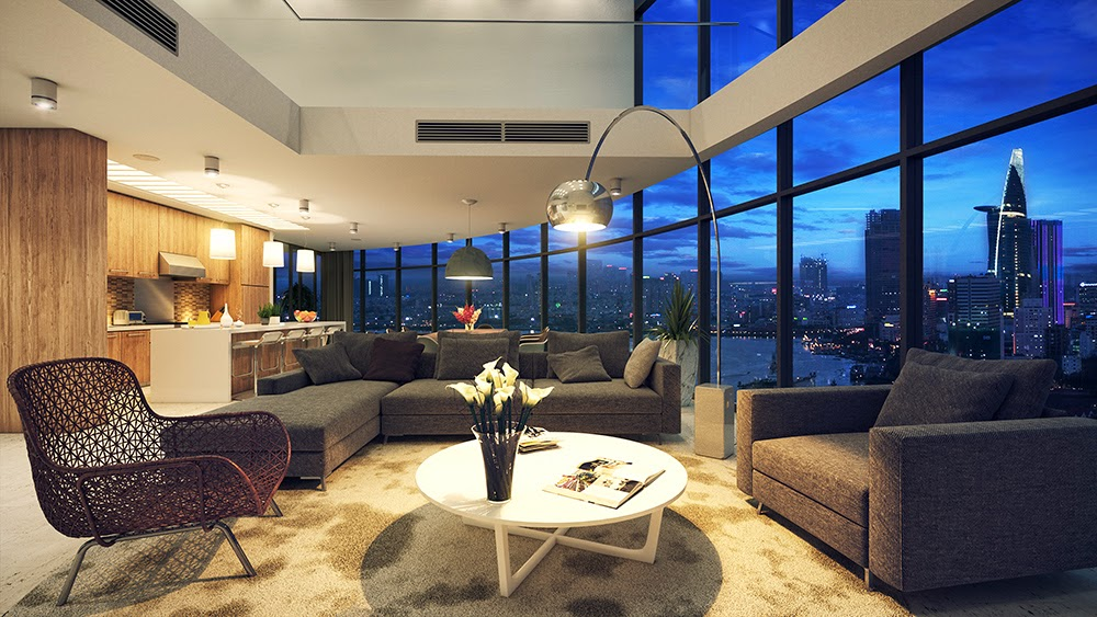 2 Penthouse Comfort Haiu0027s Portfolio CITYGARDEN Penthouse