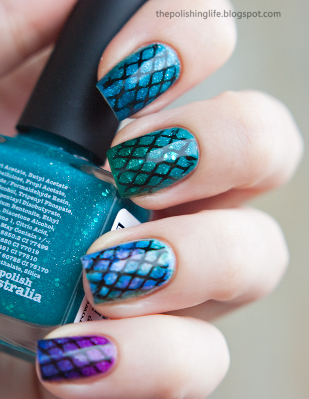 A Gaudi-inspired manicure with Picture Polish