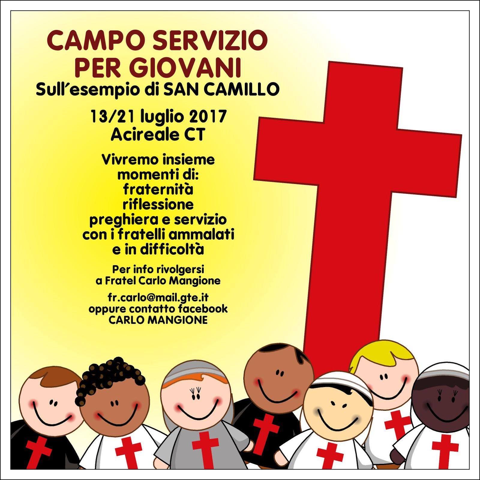 Campo Servizio per Giovani