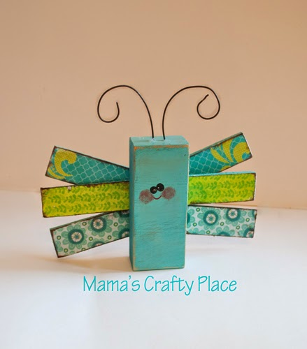 Mama 39 s crafts 2x4 summer bug crafts for Where to buy wood blocks for crafts