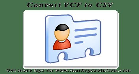 VCF File Converter