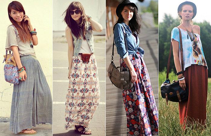 Tend ncias de moda primavera ver o 2016 artesanit - Estilo boho chic ...