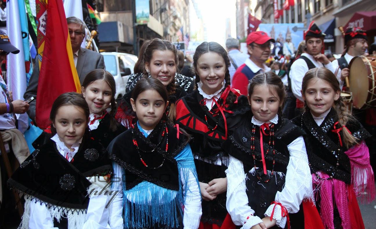 Desfile de la hispanidad de Nueva York 2014 - Espana