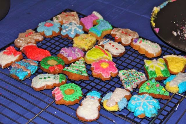 Christmas cookies, a fading memory