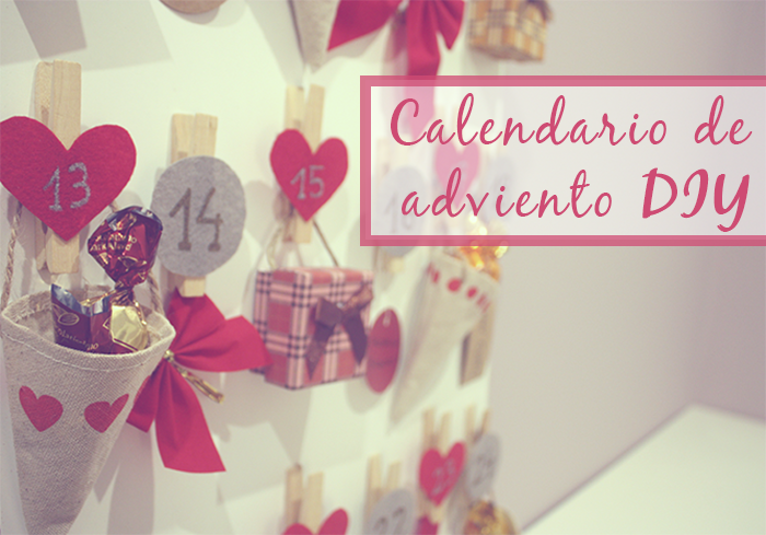 diy calendario adviento