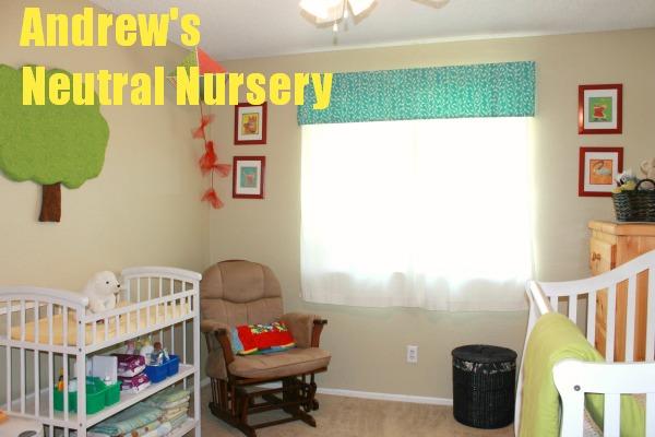 Andrew's Gender Neutral Nursery tour