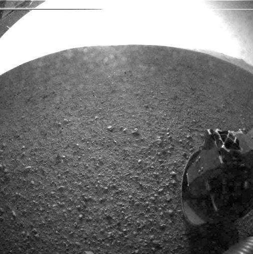 El robot Curiosity aterriza en Marte