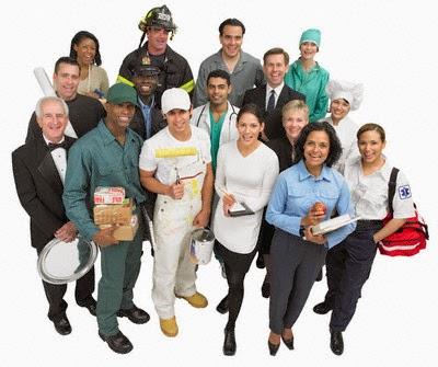Grupo de personas dispuestas a trabajar