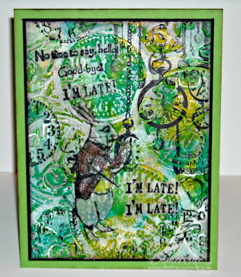 Mixed Media - Stamps Artistic Outpost