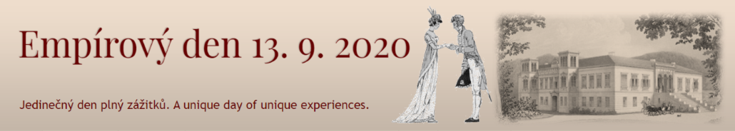 Empírový den 13. 9. 2020