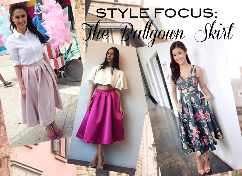 Mariane Perez Style Focus 6 Ways To Wear A Ballgown Skirt