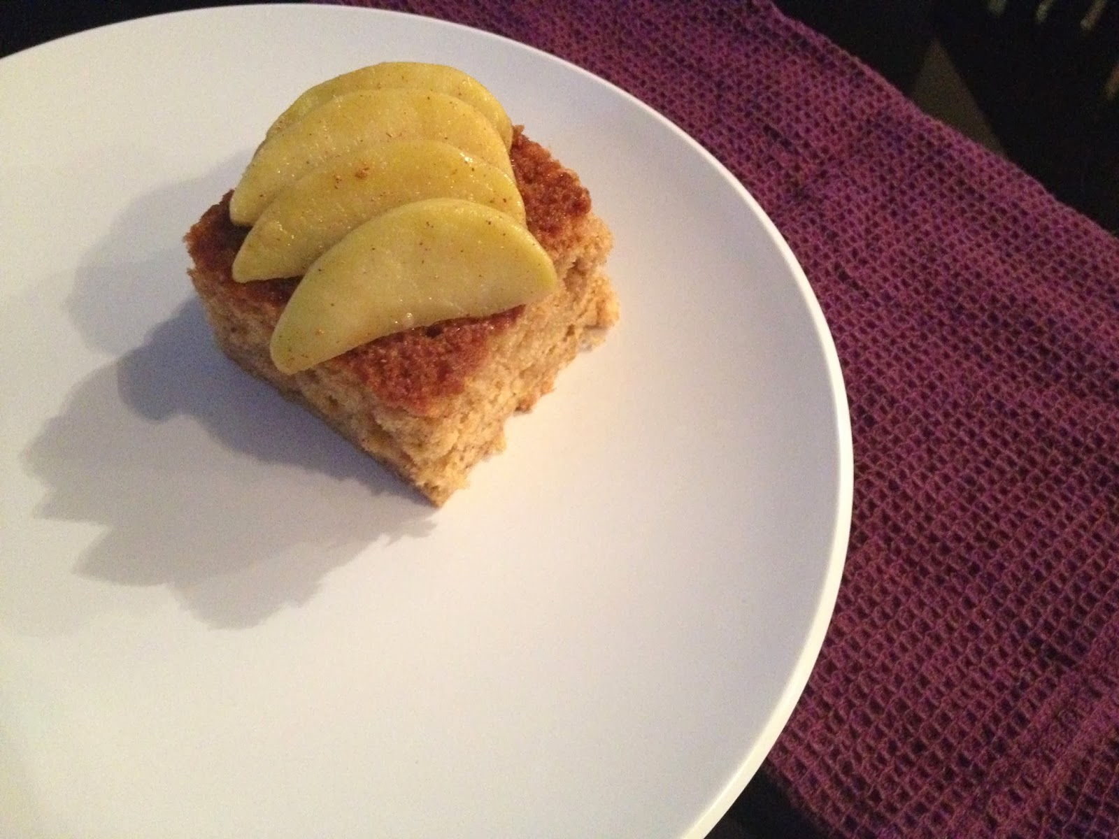 The Nerdy Chef: Maple Apple Spice Cake