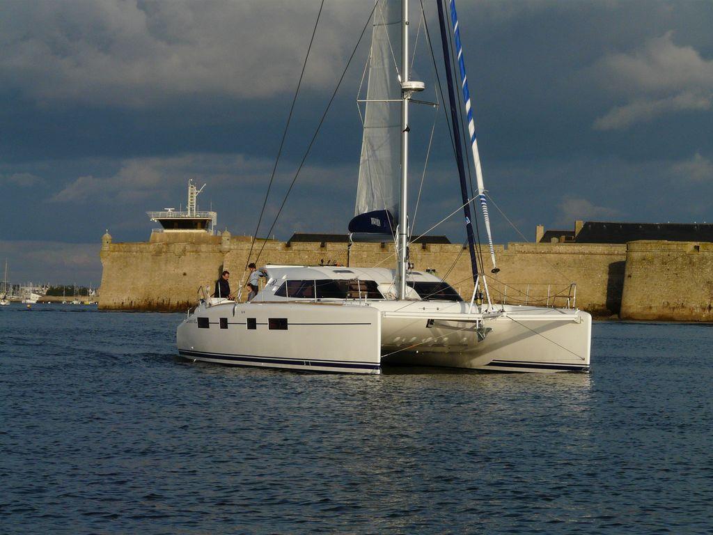 cherbourg plaisance actualites  lancement du nautitech 482