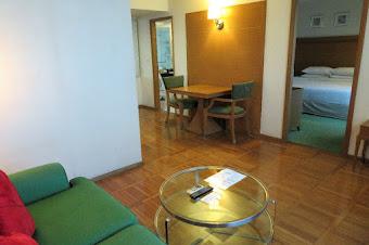 バンコクで泊まった格安スイートルーム