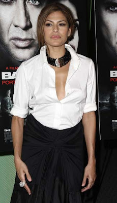 Eva Mendes Beaded Choker Necklace