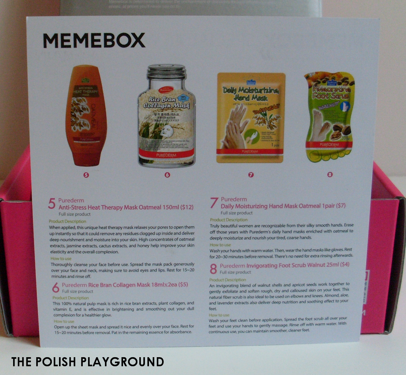 Memebox Special #6 Whole Grain Unboxing
