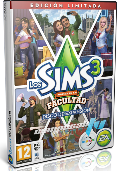 Los Sims 3 University Life Expansión PC Full Español FLT