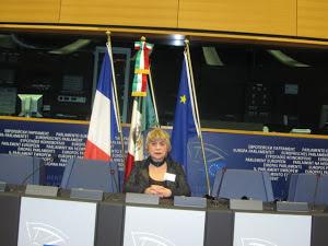 *Morgane BRAVO : PARLEMENT EUROPEEN à Strasbourg*