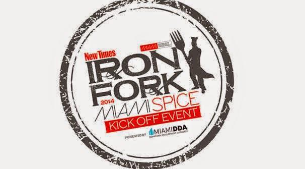 Iron Fork Miami Spice 2014