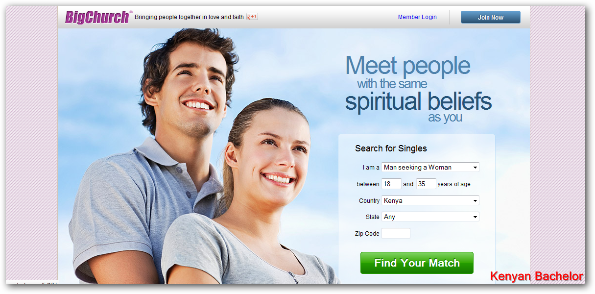 Online dating site christian