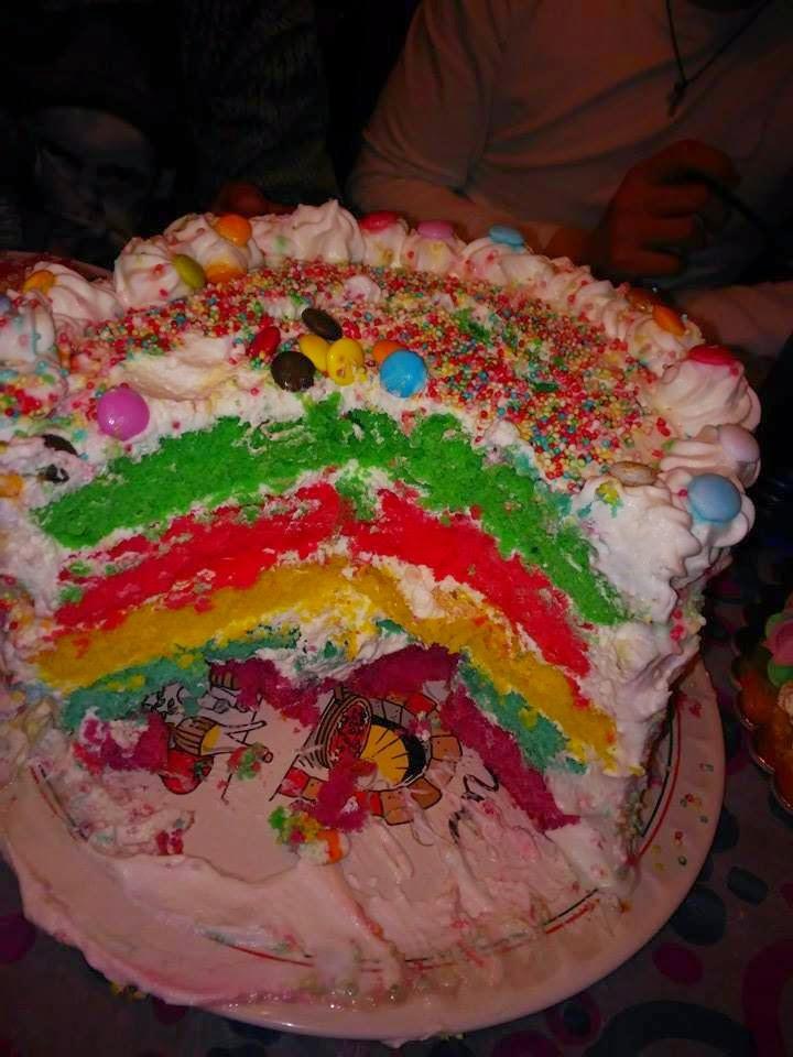 bimby, rainbow cake