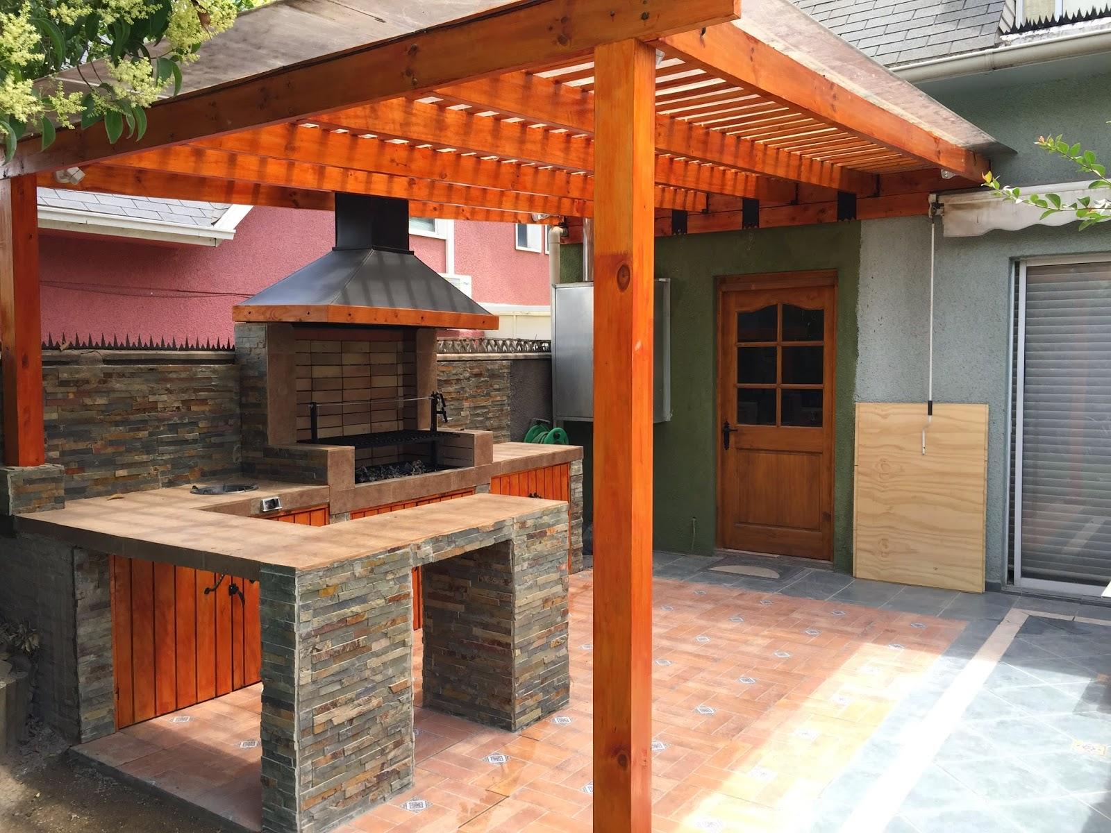 Quinchos y pergolas archivos construcciones america for Parrillas para casas modernas