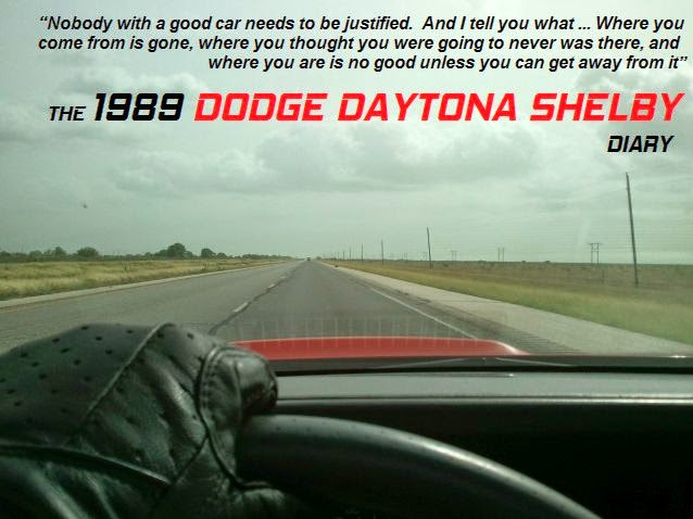 The 1989 Dodge Daytona Shelby Diary