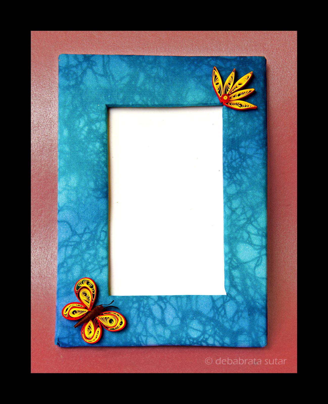 Crispy Crafts: Handmade photo frames..