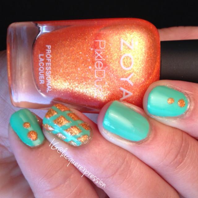 beatrix nail polish by zoya