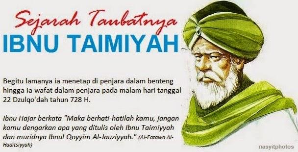 penggagas pemikiran radikal wahabi ibnu taimiyah