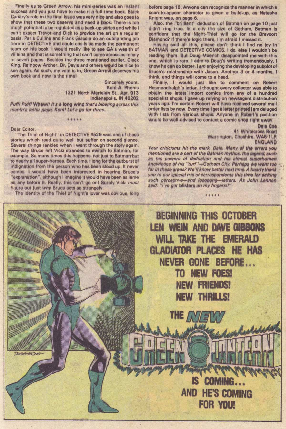 Detective Comics (1937) Issue #532 Page 19