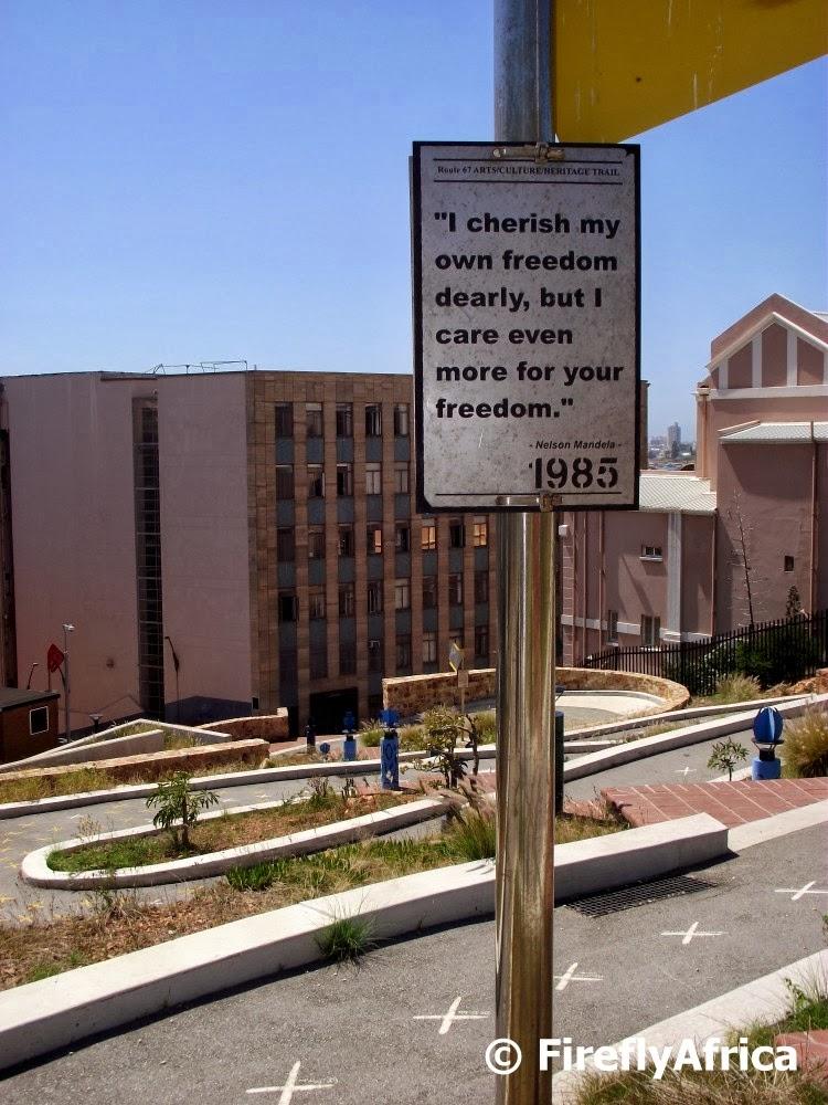 Port Elizabeth Daily Photo Mandela Quote