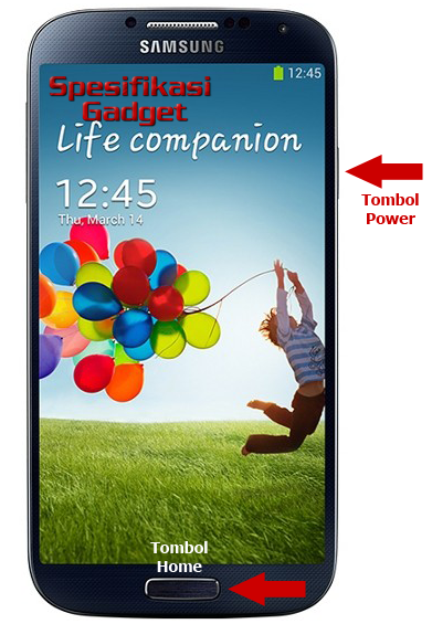 Cara Mengambil Screenshot Pada Samsung Galaxy S4