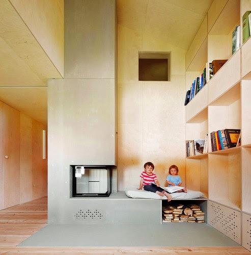 dom w stodole-modern barn by Camponovo Baumgartner Architekten-decomania