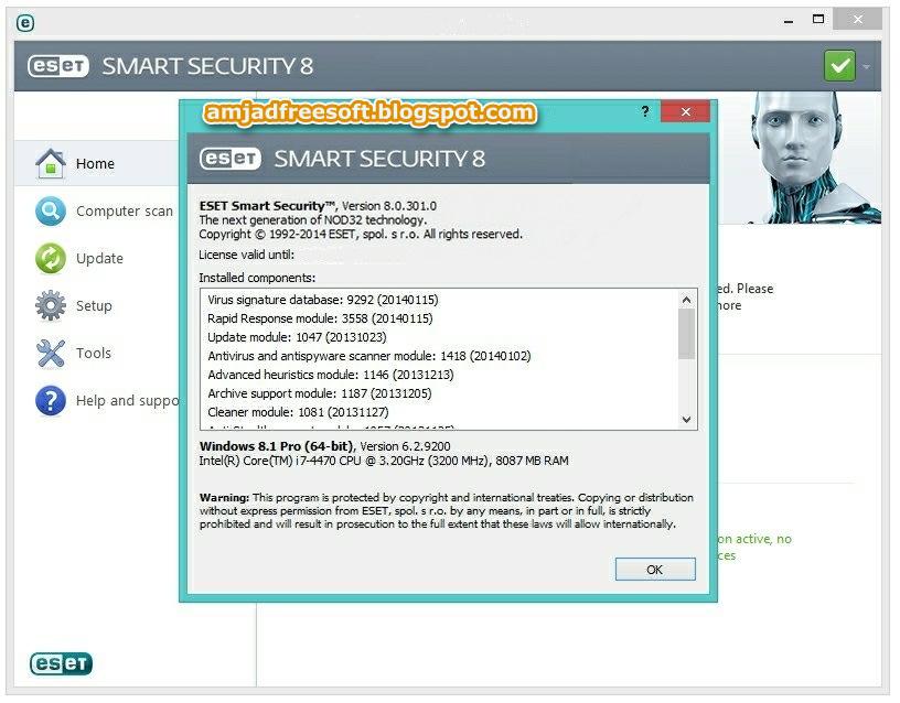 Антивирусы, Файрволы Скачать торрент ESET NOD32 Antivirus. ключей как в кас