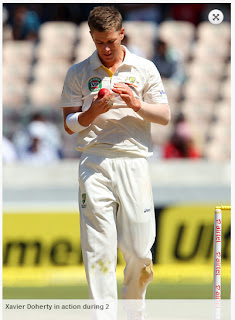 Xavier-Doherty-India-v-Australia-2nd-Test
