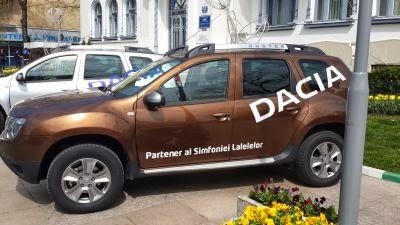 Dacia la Simfonia Lalelelor
