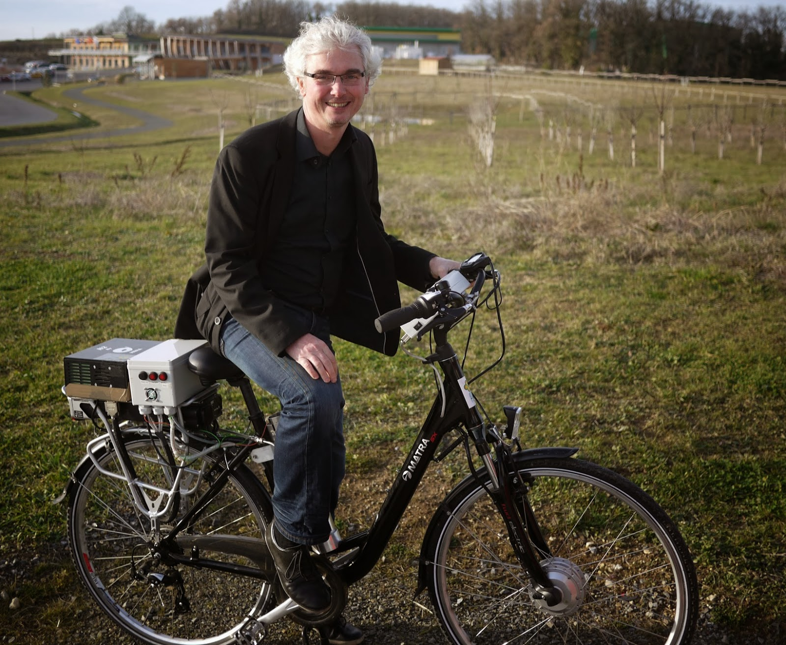 vélo avec pile à combustible - Philippe Goirand