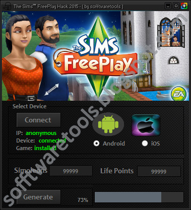 The Sims FreePlay Hack Tool Android 2015 | Unlimited