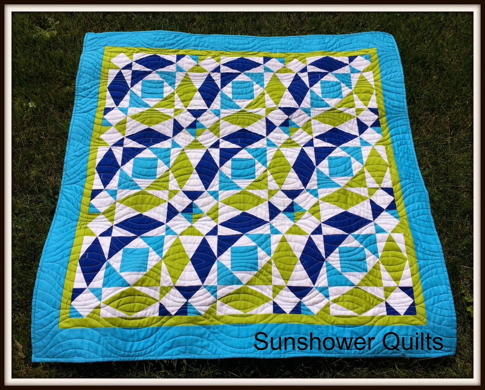Sunshower quilts storm at sea for Storm at sea quilt template