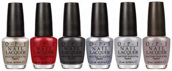 colección esmaltes de unas Opi 50 Sombras de Grey