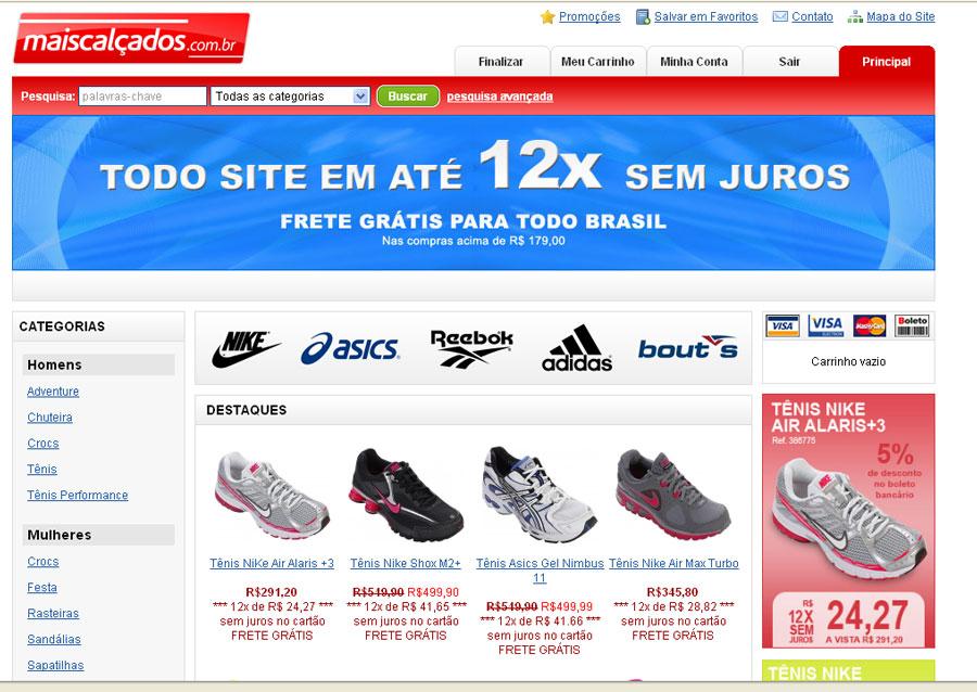 http://www.maiscalcados.com.br
